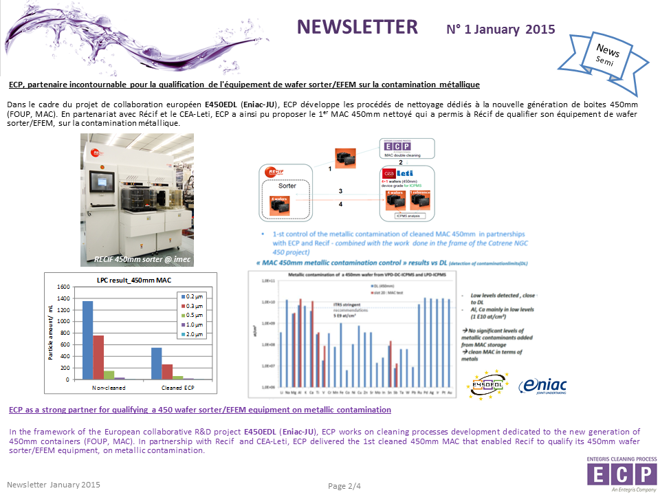 NEWSLETER N°1 2015 S2
